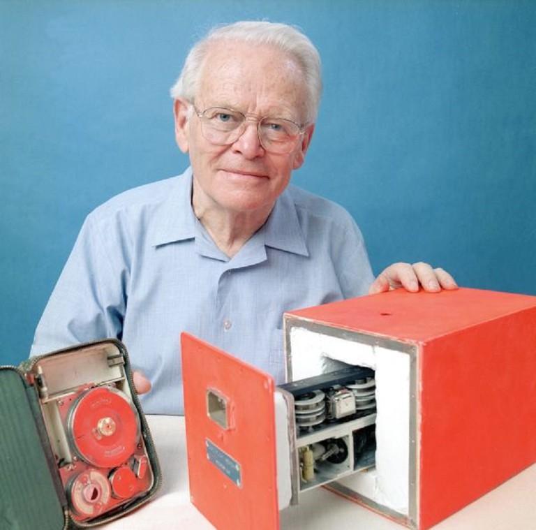 Dave Warren with BlackBox Prototype
