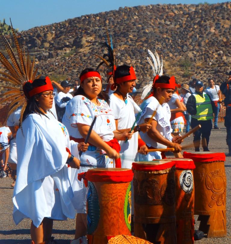 Aztec Drummers