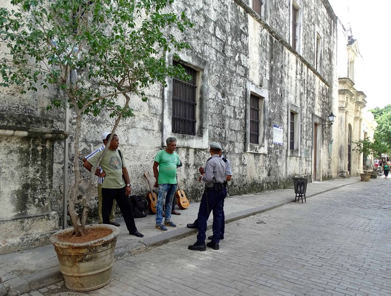 National Revolutionary Police Force in Cuba   © Amber C. Snider