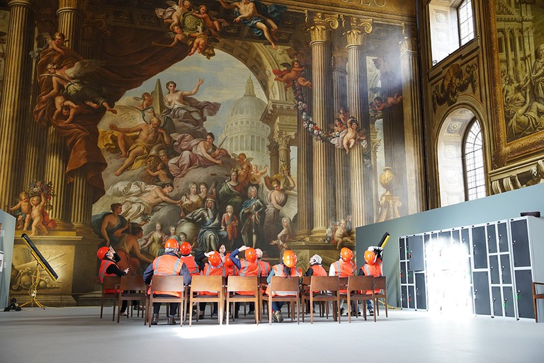 The Old Royal Naval College Ceiling Tour