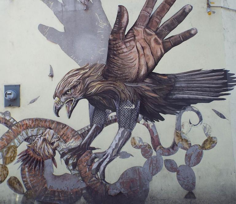 La Romita mural