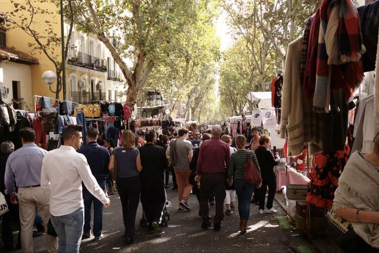 El Rastro Market Madrid
