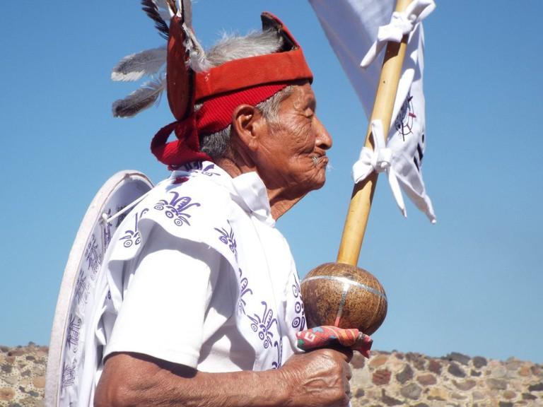 Elder Aztec Dancer