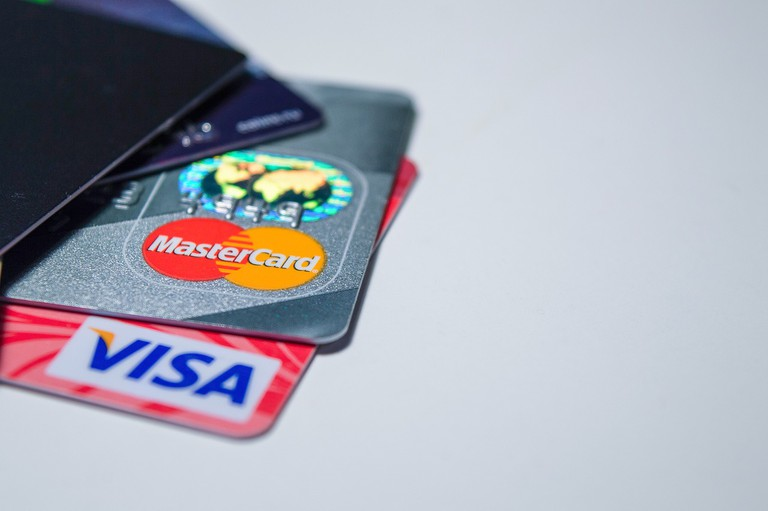 All the credit cards