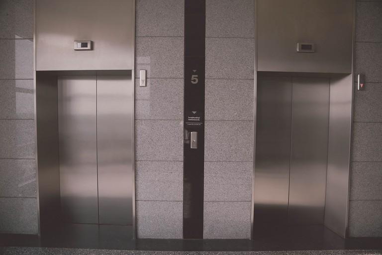 The Swiss linger in elevators