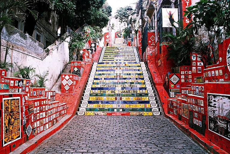 Selarón Staircase, Rio de Janeiro, Brazil | © Adelano Lázaro/WikiCommons