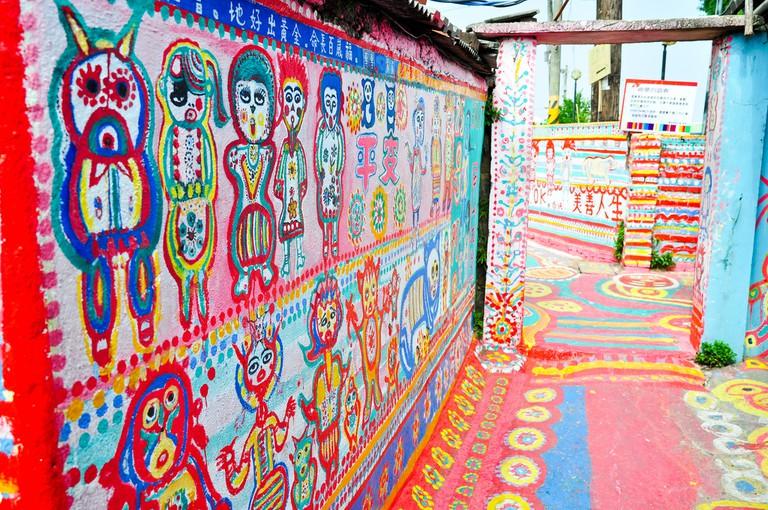 Rainbow Village | © Eton Kwok/Flickr