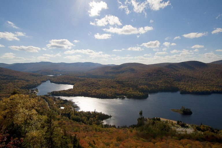 Fall foliage in Mont-Tremblant