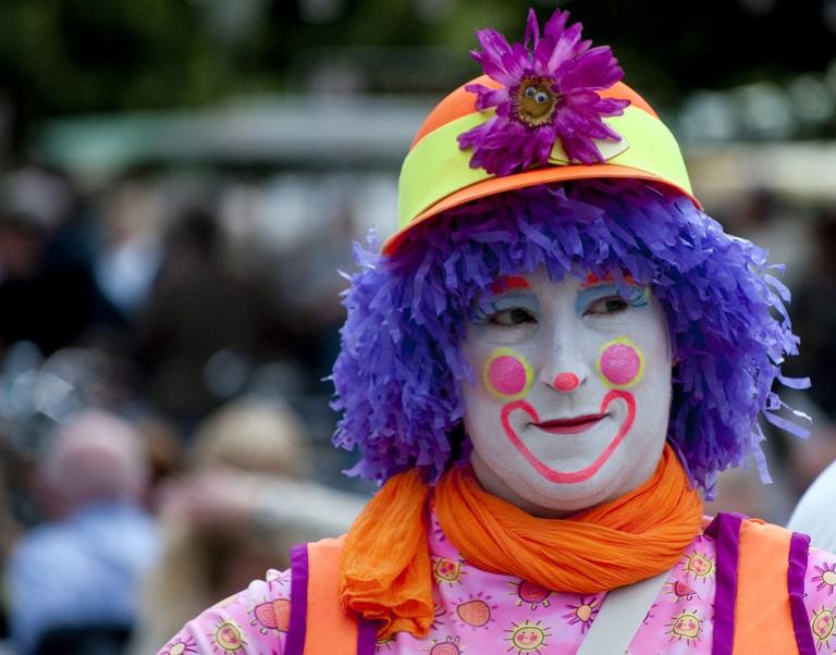Female clown | ©CGP Grey / Wikimedia Commons