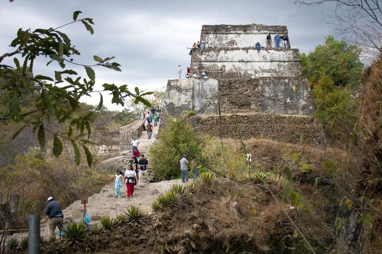 Temple at Tepozteco, Morelos