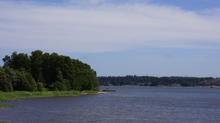 Islands off the coast of Helsinki