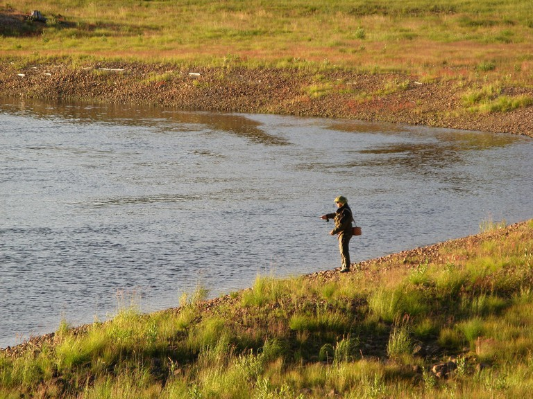 Fly fishing in Sweden's many lakes