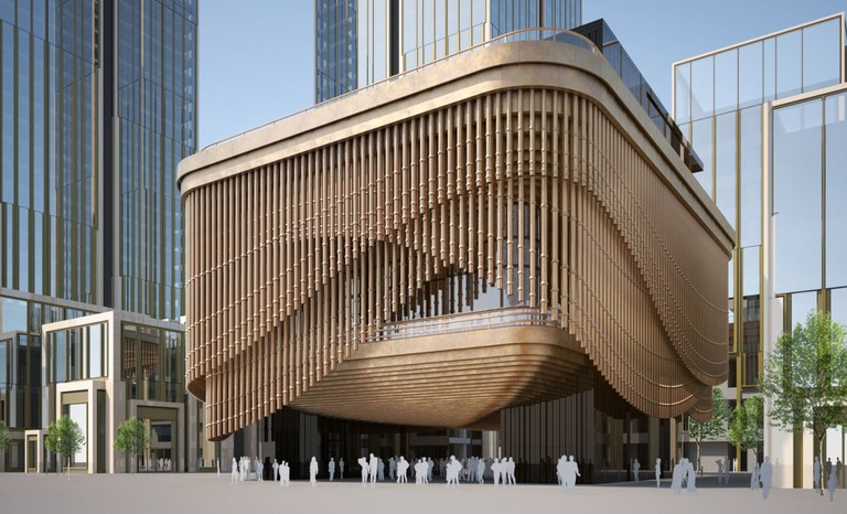 The Fosun Foundation has now become the new cultural landmark of Shanghai.