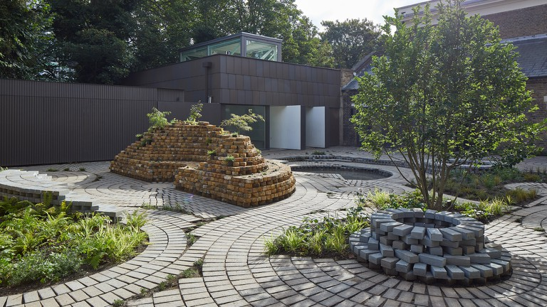 The Gabriel Orozco Garden at the South London Gallery