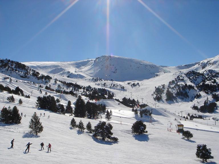 Grandvalira ski resort, Andorra