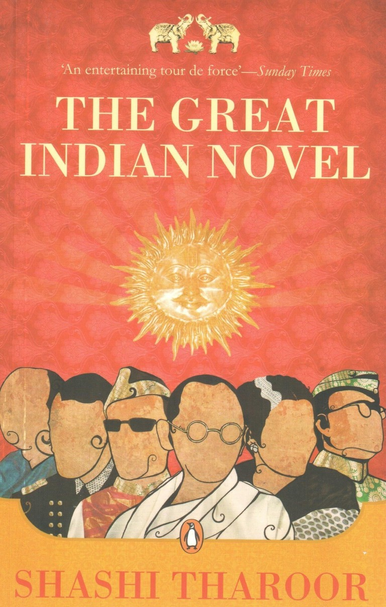Great Indian Novel by Shashi Tharoor / Viking Press