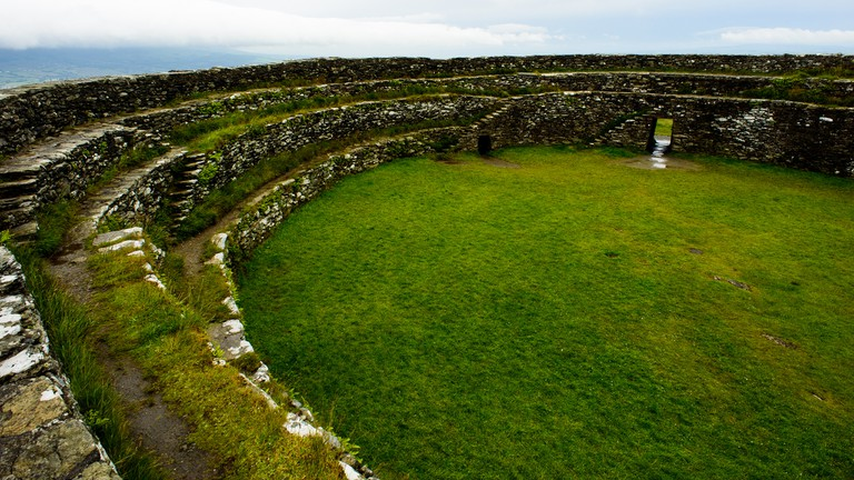 Grianan of Aileach, Ancient Stone Ringfort in County Donegal