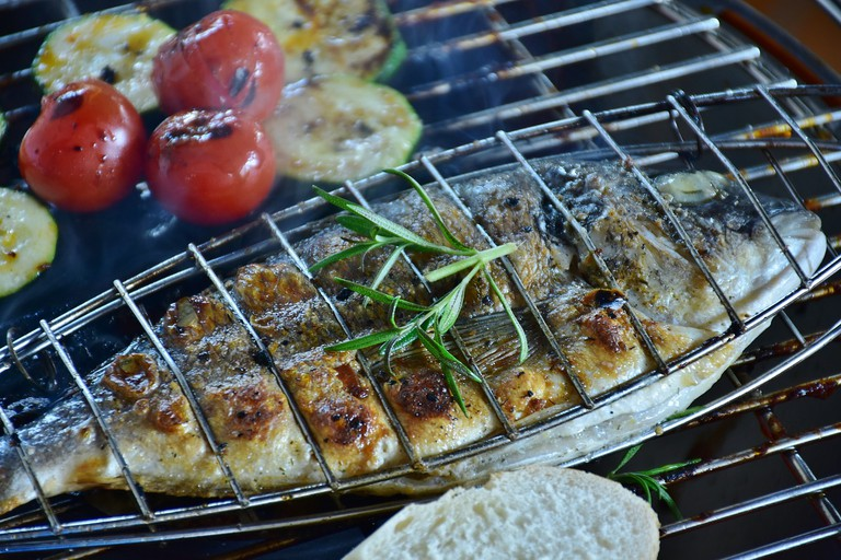 grilled trout is a typical dish from Andorra
