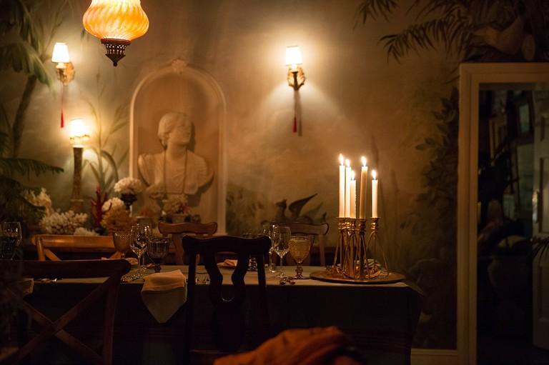 Candlelit Dinner at Halfaampieskraal | Courtesy of Halfaampieskraal