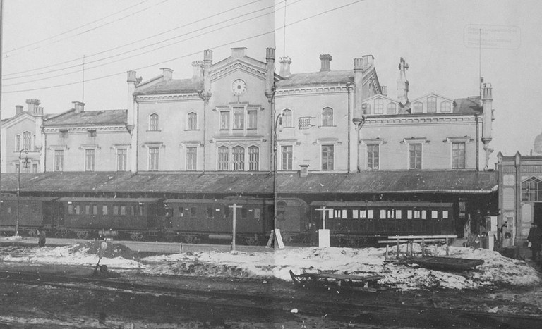 Helsinki old railway station
