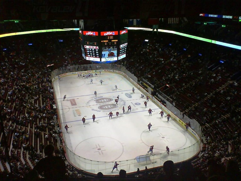 A Canadiens game