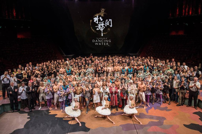 90 performers and 160 production crew work on each show
