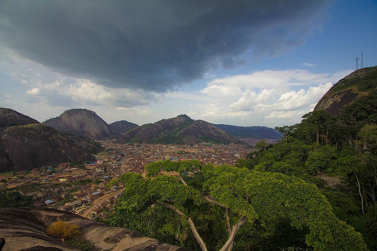 A view of Idanre Hills