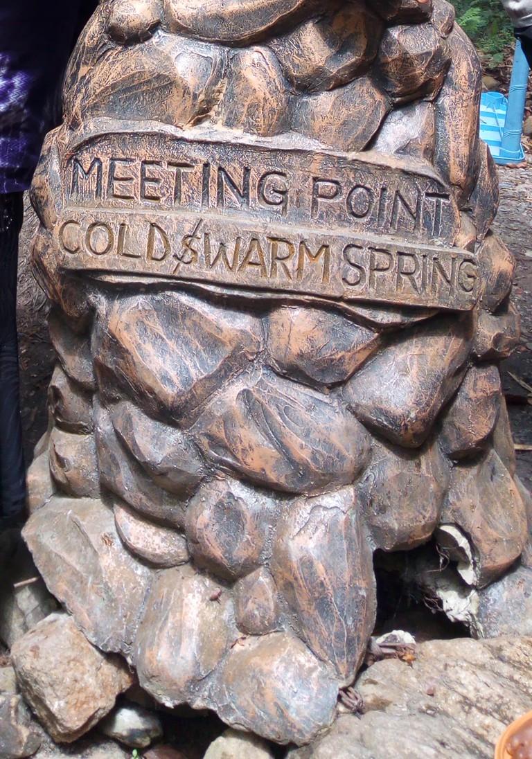 Ikogosi Warm Springs' Confluence