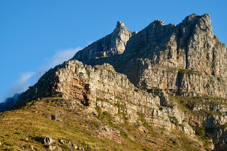 Table Mountain from Kloof Corner