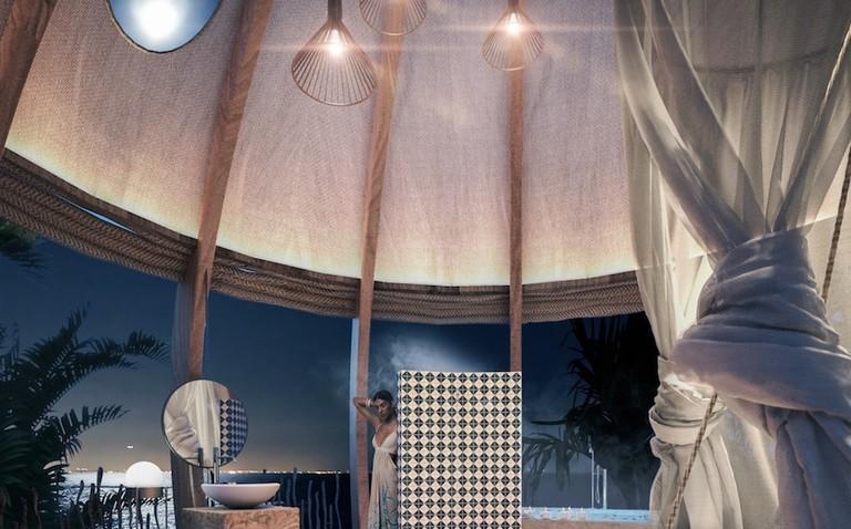 Cocoon interior