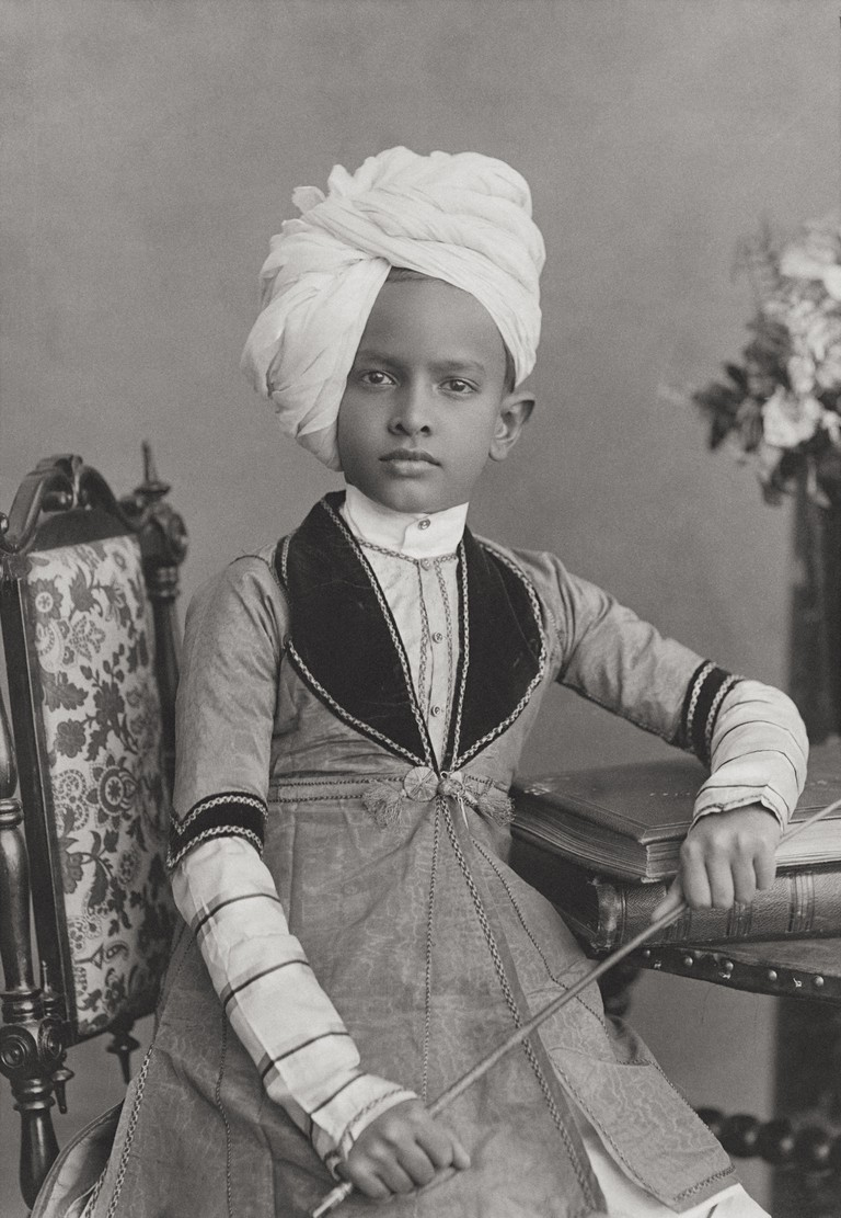 Unknown artist, H.H The Rajah Sahib of Ullwar (Alwar), c. 1887