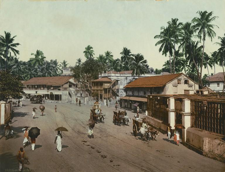 Photoglob Co., Girgaum Road, Bombay (Mumbai), c. 1890 – 1910