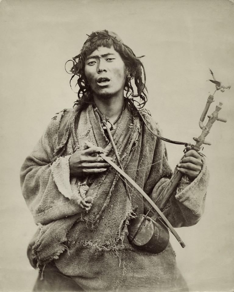 Artist unknown, Darjeeling Hills Musician, date unknown