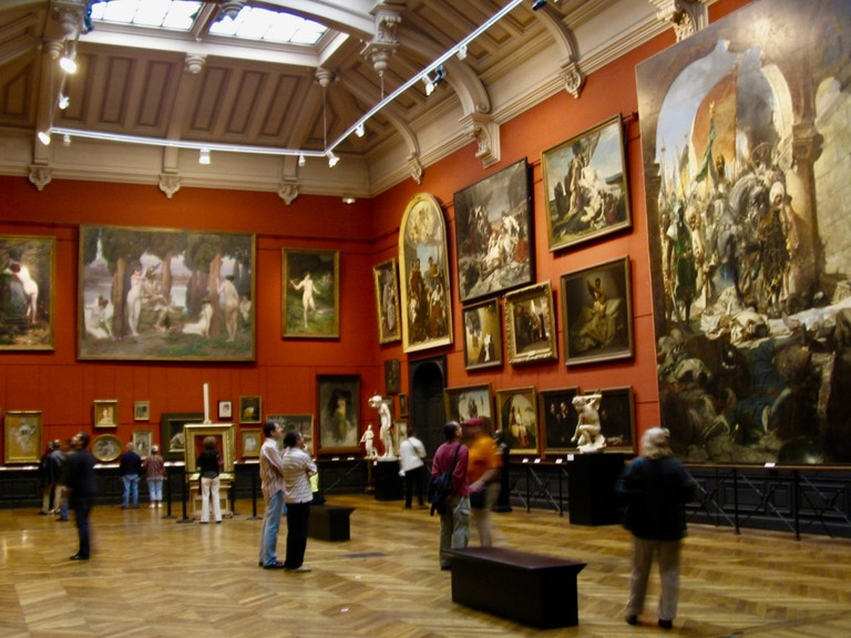 Inside the Musée des Augustins