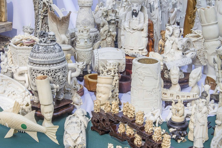 Illegal ivory sold in NYC | © Culture Trip