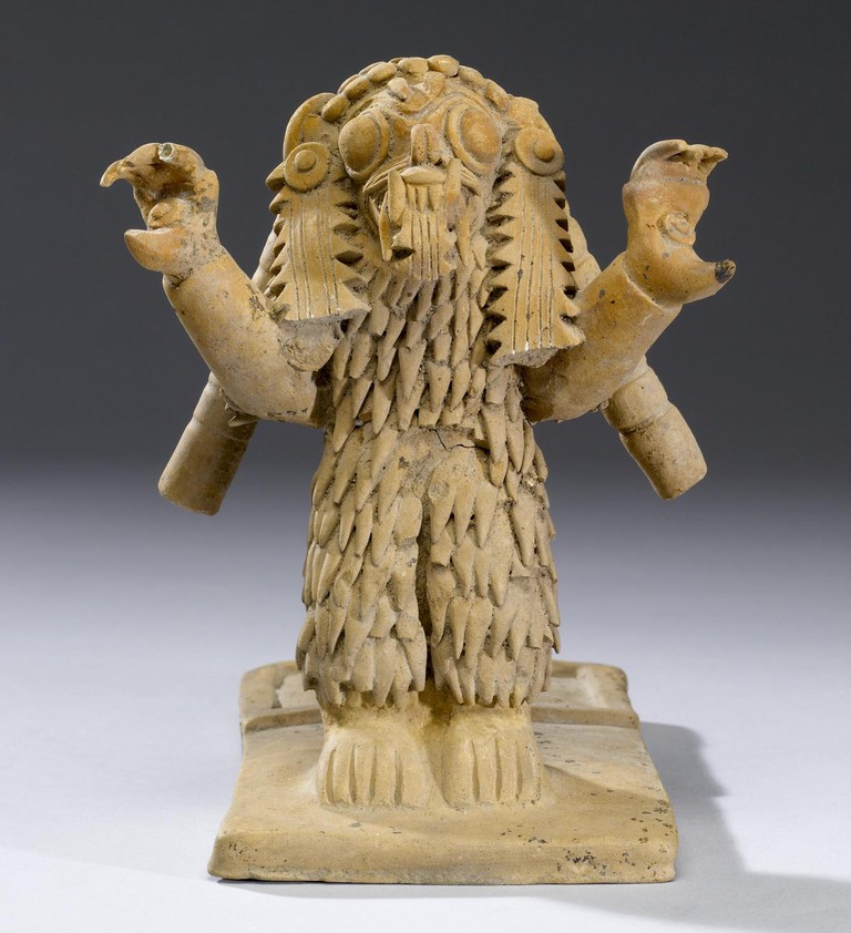 Sculpture from the Jama-Coaque Culture, Ecuador
