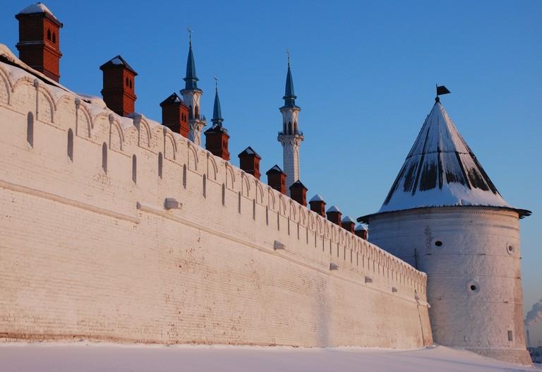 Kazan Kremlin is the oldest intact Tatar fortress