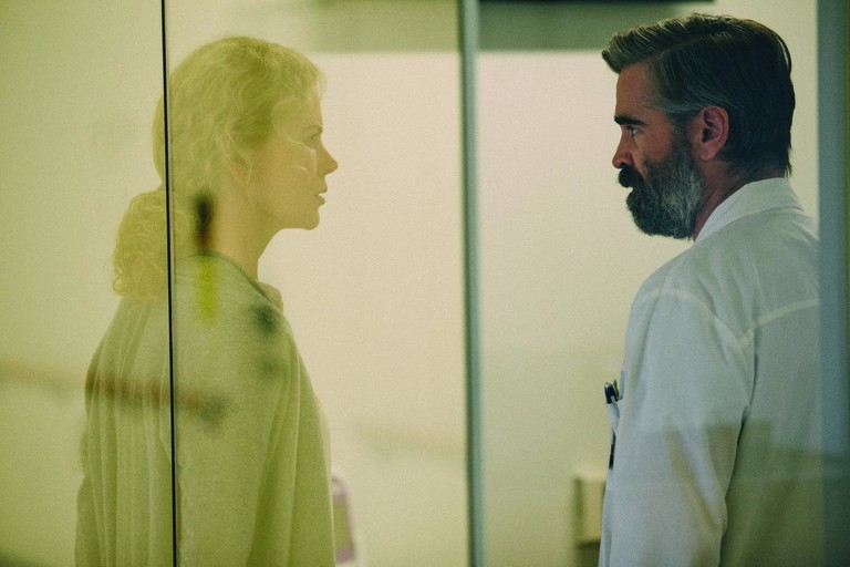 Nicole Kidman and Colin Farrell in Killing of a Sacred Deer