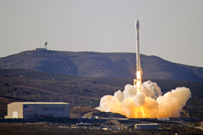 Space X West Coast Launch Facility