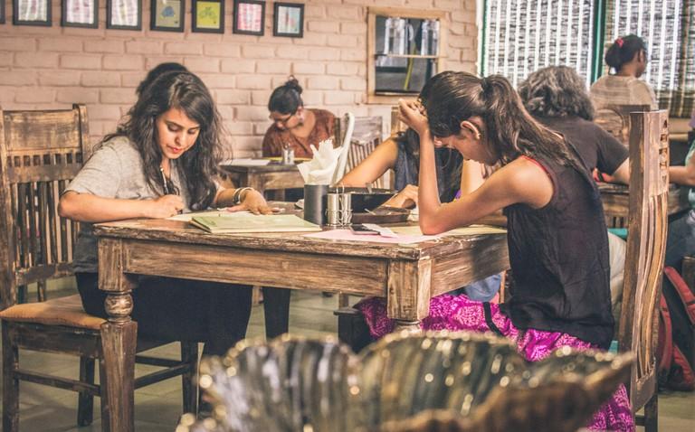 A Letter Earthlings event in Delhi