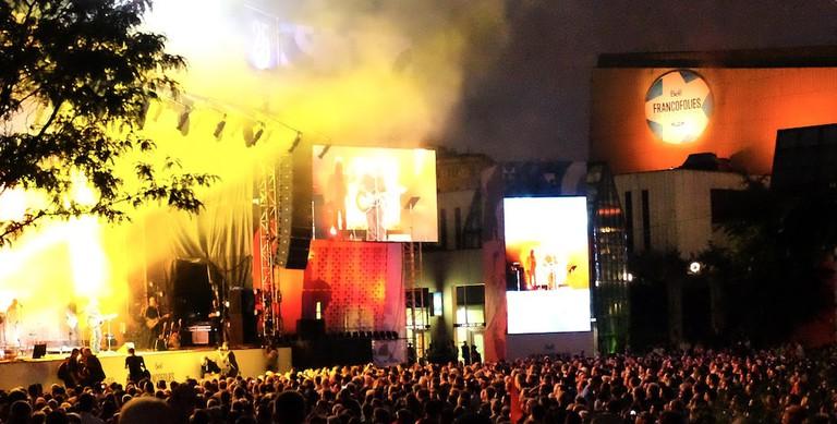 Les Francofólies, a Montreal music festival