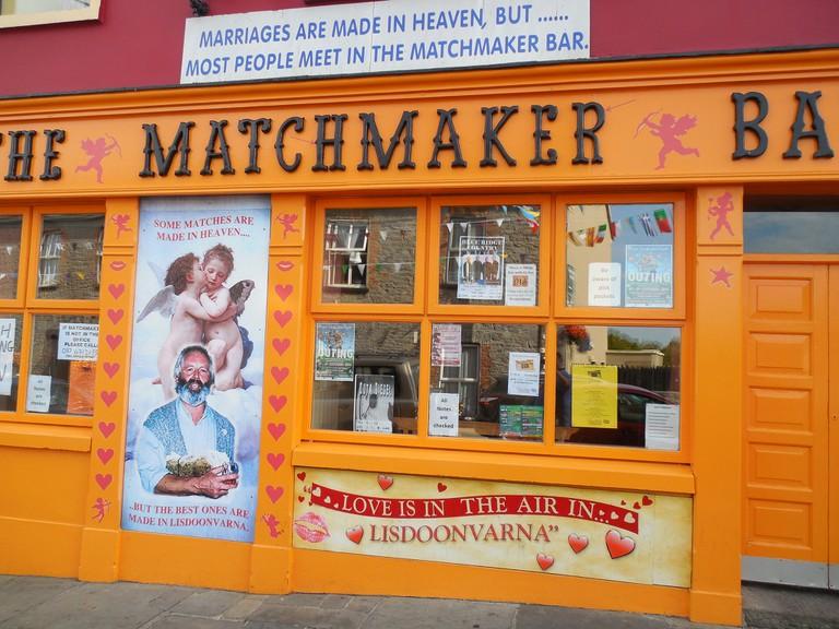 The famous matchmaking pub at Lisdoonvarna, Ireland