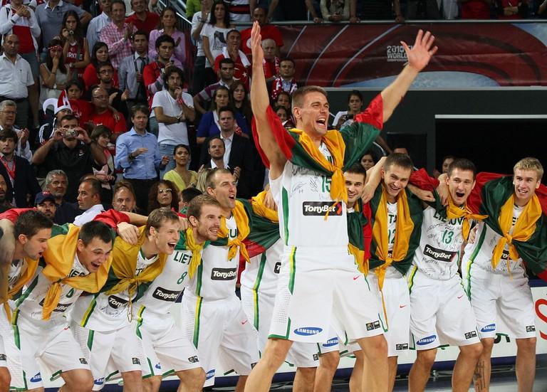 Lithuania national basketball team 2010