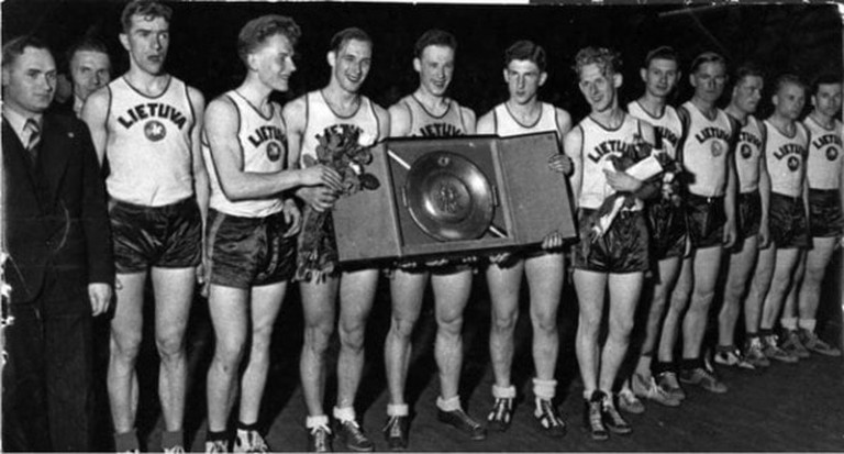 Lithuania national basketball team 1937