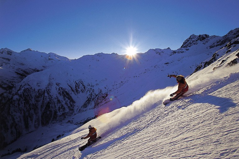 Snowboarding is one of the most popular winter sports