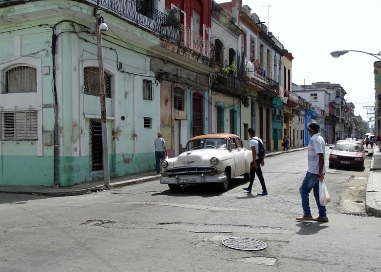 Calle Hospital in Havana   © Amber C. Snider