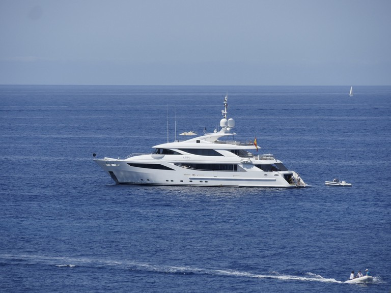 Dutch speakers call a yacht een jacht -and both words are pronounced with what English speakers would call an y sound