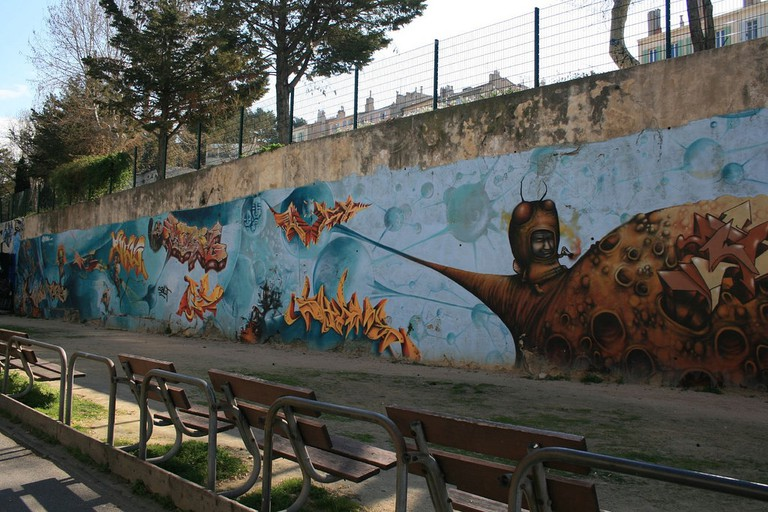 Marseille takes pride in its street art and gritty nature