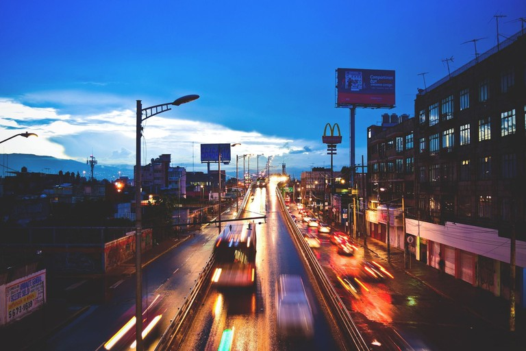 Mexico City afternoon traffic / pixabay