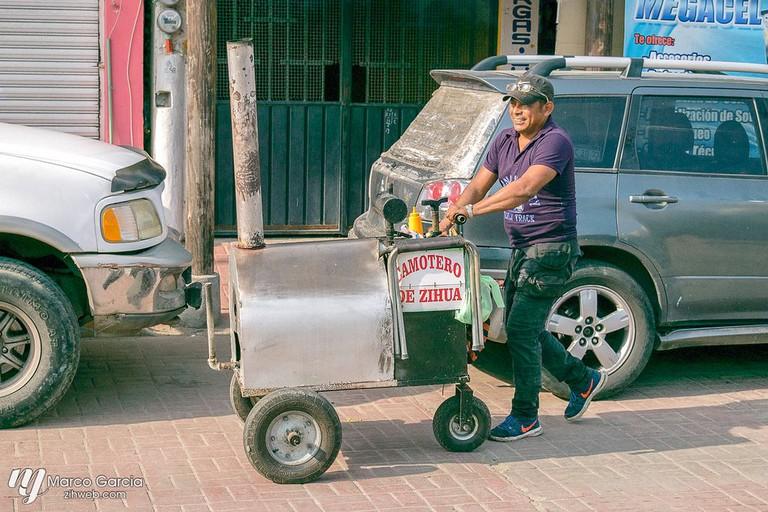 Sweet potato vendor